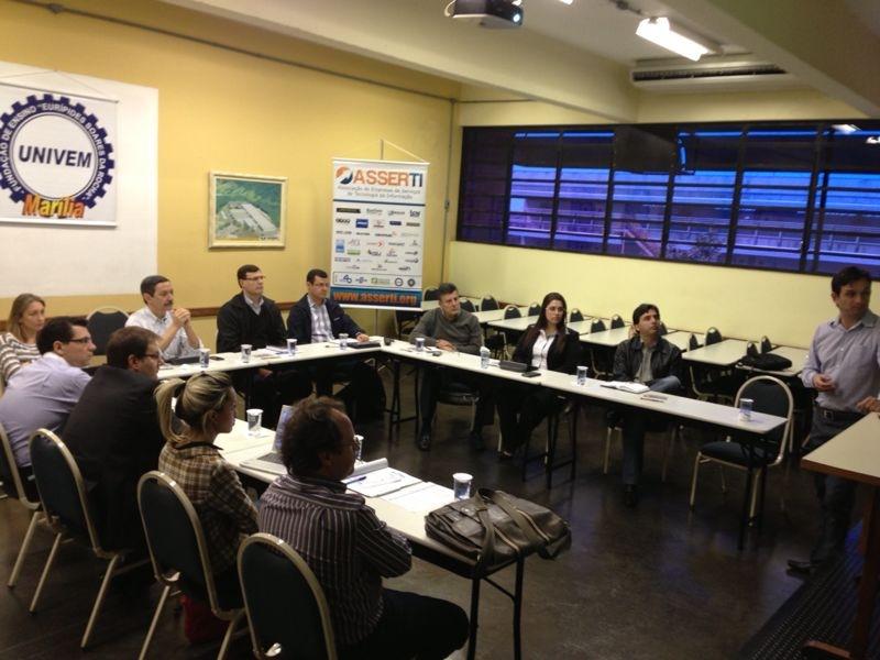 Reunião das associações de empresas de TI